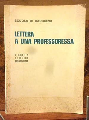 Lettera a una professoressa: Scula di Barbiana