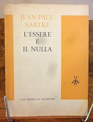 L' Essere e il Nulla: Jean Paul Sartre