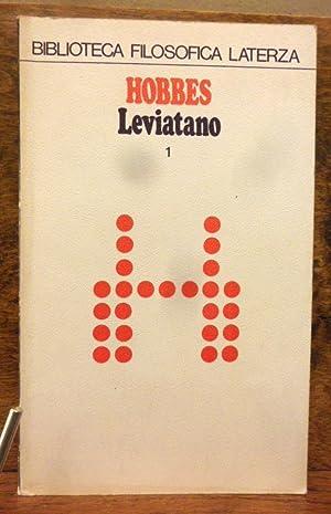 Il leviatano volume I e II: Thomas Hobbes