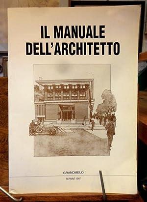 Il manuale dell' architetto