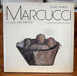 Mario Marcucci la luce interrotta: Cesare Garboli