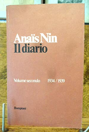 Il Diario Volume secondo 1934 / 1939: Anais Nin