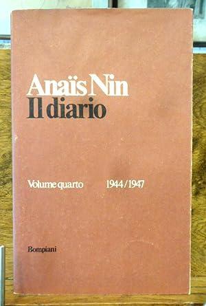 Il Diario Volume quarto 1944 / 1947: Anais Nin