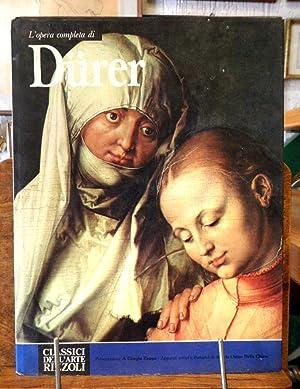 L' opera completa di Durer: Giorgio Zampa