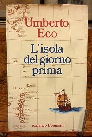 L' isola del giorno prima romanzo: Umberto Eco