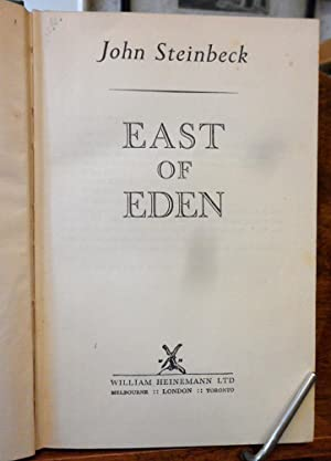 a review of east of eden by john steinbeck This volume includes one dozen new and recent essays on john steinbeck's east of eden (1952) first commissioned by the late professor michael j meyer, a renowned steinbeck scholar, the volume was originally designed to commemorate the 60th anniversary of the novel's publication.