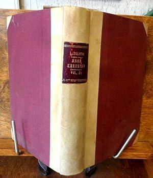 ANNA KARENINE Vol. II Romanzo del Conte: Leone Tolstoi