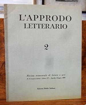 L' Approdo letterario Rivista trimestrale di lettere