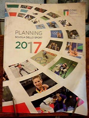 Planning Scuola dello Sport 2017: CONI Scuola dello