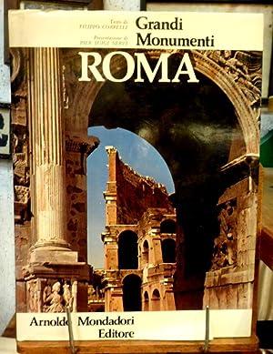 ROMA GRANDI MONUMENTI PRESENTAZIONE DI PIER LUIGI: FILIPPO COARELLI,PIER LUIGI