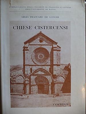 L'Architettura delle Chiese Cistercensi Italiane con particolare: Lelia Fraccaro De