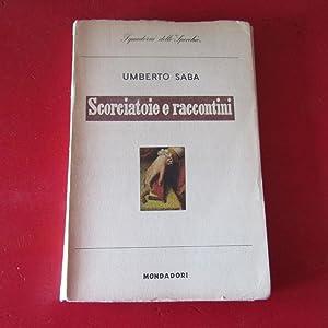 Scorciatoie e raccontini: Umberto Saba
