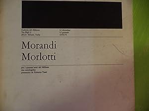 Morandi - Morlotti: Roberto Tassi