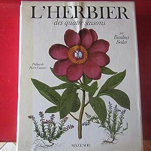L'Herbier des quatre saisons: Basilius Besler