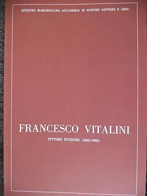 Francesco Vitalini Pittore incisore (1865-1905): Luigi Dania