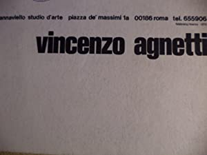 Vincenzo Agnetti: Achille Bonito Oliva