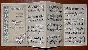 Minuetto per Pianoforte del Cav. Giovanni Tarditi Uff. M.o Capo Musica 78° Fanteria.: Tarditi ...