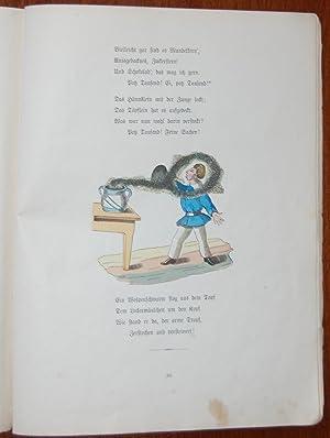 Im Himmel und auf der Erde : Herzliches und Scherzliches aus der Kinderwelt. Von Heinrich Hoffmann:...