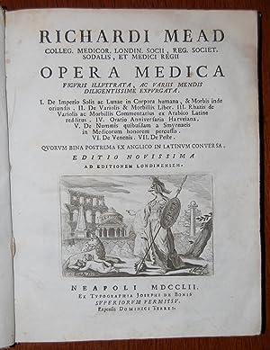 Opera medica figuris illustrata, ac variis mendis diligentissime expurgata. I. De imperio Solis ac ...