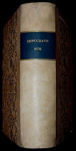 Magni Hippocratis Coaca Praesagia, opus plane divinum,: Ippocrate – Hippocrates,