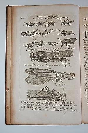 Appendix Secunda ad Historiam Aethiopicam Iobi Ludolfi continens Disserationem de Locustis, Anno ...