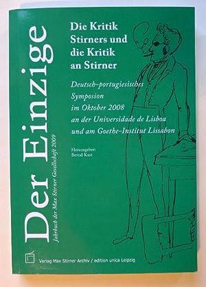 Die Kritik Stirners und die Kritik an: KAST (Hrsg.), Bernd: