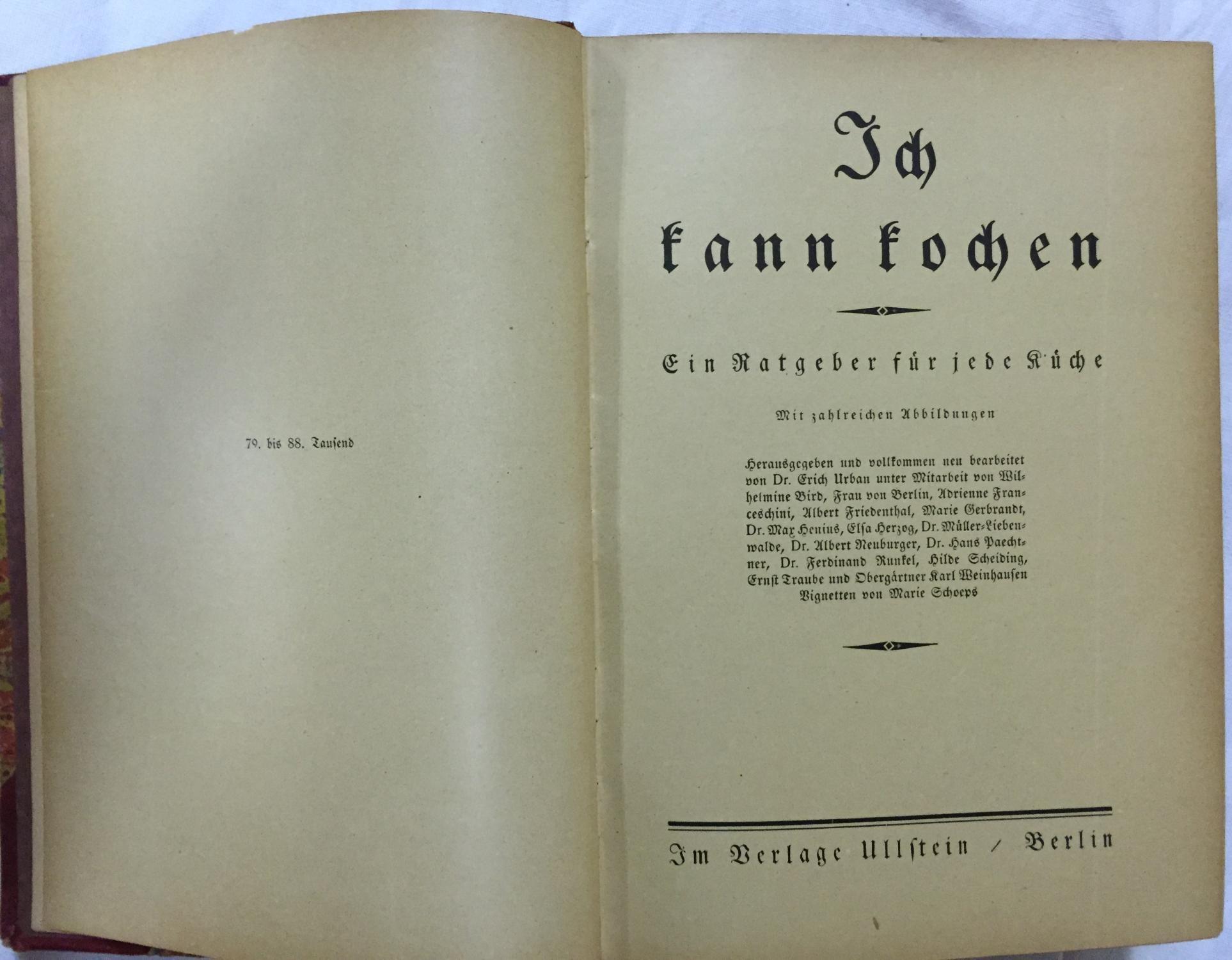 Das Buch der Hausfrau. Ein Ratgeber für: Urban, Erich (Hg.)