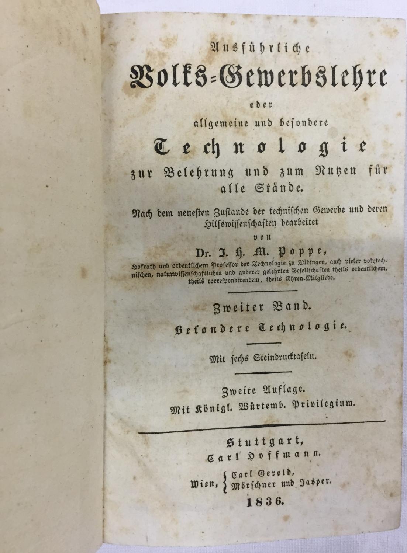 Fr.jul.otto:lehrbuch Der Rationellen Praxis Der Landwirschaftlichen Gewerbe;1852 Antiquarische Bücher