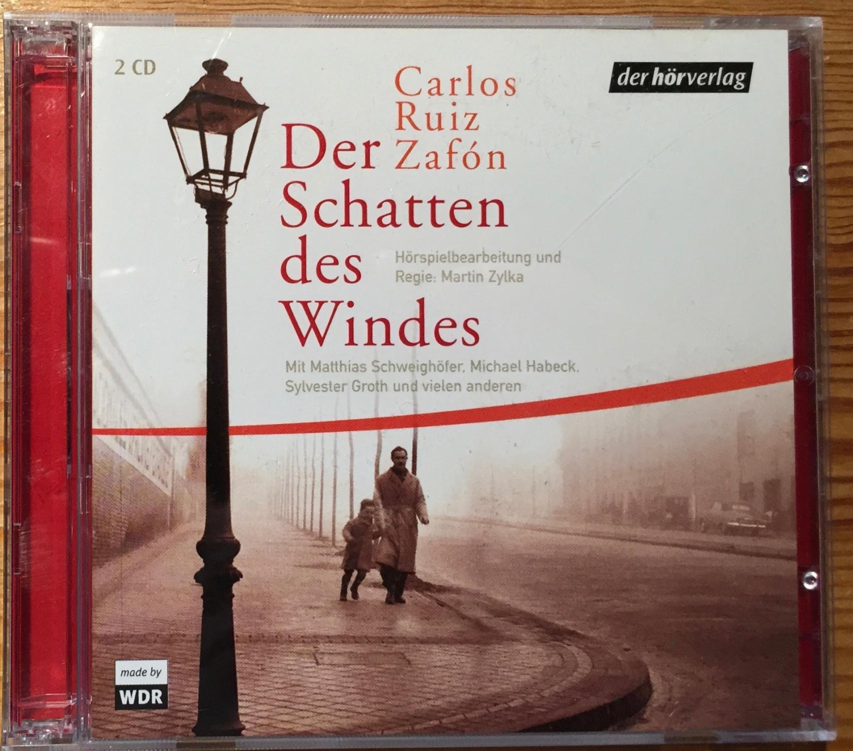 Der Schatten des Windes. (2 CDs): Ruiz Zafon, Carlos