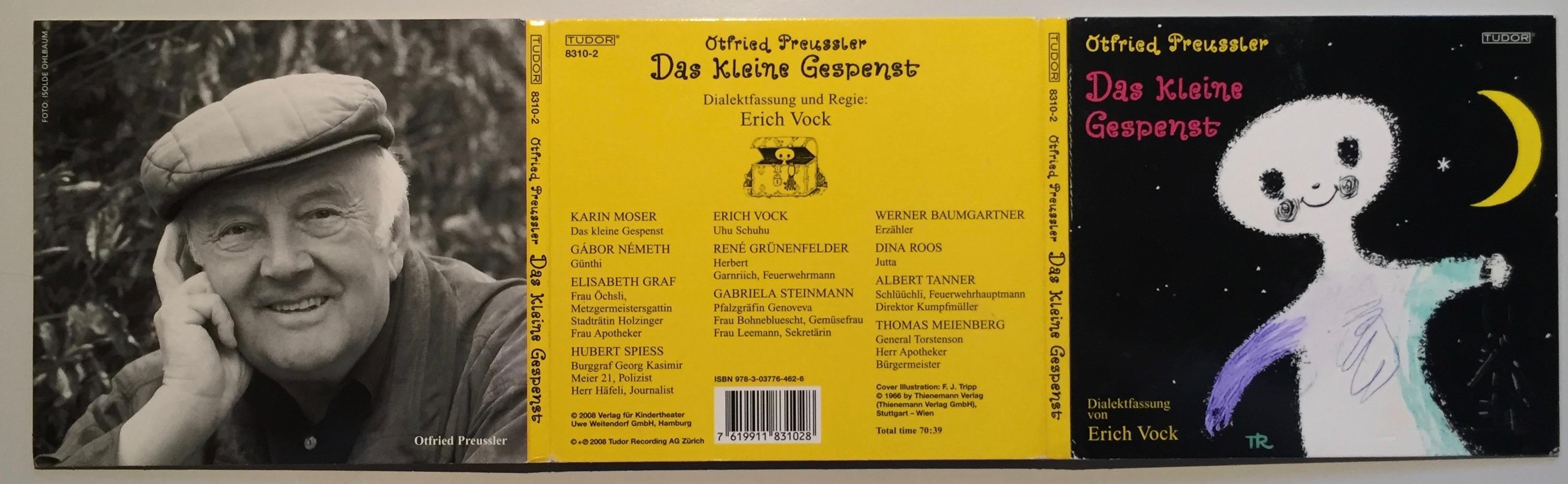 CD) Das kleine Gespenst. Dialektfassung: Erich Vock.: Preussler, Otfried