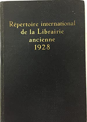 Internationales Adressbuch der Antiquare. International Directory of
