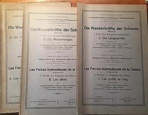 Die Wasserkräfte der Schweiz. Les Forces hydrauliques: Schweiz. Departement des