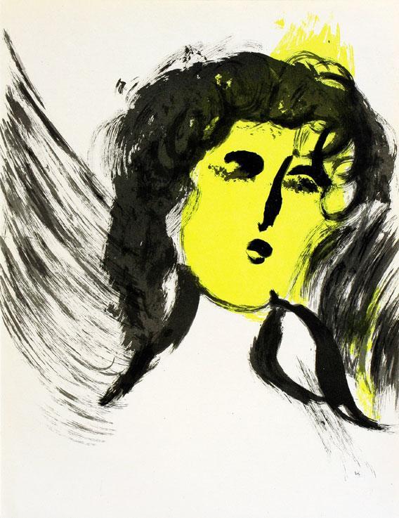 Angel in Paradise - Engel im Paris: Chagall, Marc