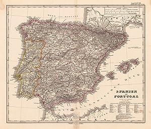 Spanien und Portugal gezeichnet von F. v. Stülpnagel ber. v. Hrm. Bghs.: Stülpnagel, F.