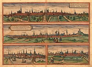 Brunopolis Vulgo Brunsuicum, Bravnschwich. Urbs Maxima, Universae: Braun, Georg &