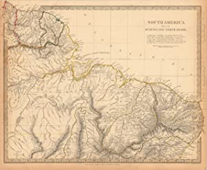 South America Sheet II Guayana and North Brazil - Published under the Superintendence of the ...
