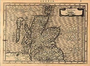 Scotia, Regnum. - Scotia: Mercator, Gerard