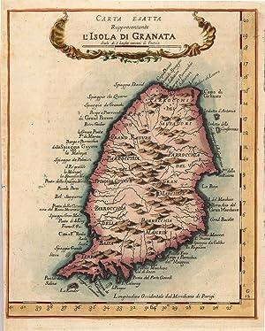 Carta Esatta Rappresentante L'Isola di Granata: Coltellini, Marco