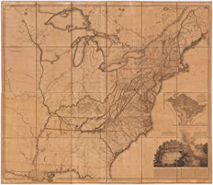 United States Of Nth America Carte Des Tardieu PAF