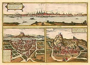 Moguntia, Germaniae Metropolis, ad Rheni ripas Urbs: Janssonius, Joan