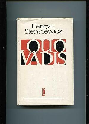 Quo vadis: Sienkiewicz Henryk
