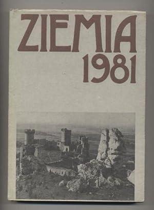 Ziemia 1981 Prace i materialy krajoznawcze: Praca zbiorowa