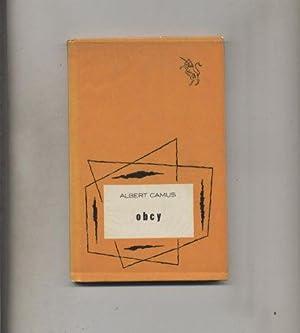 Obcy: Camus Albert