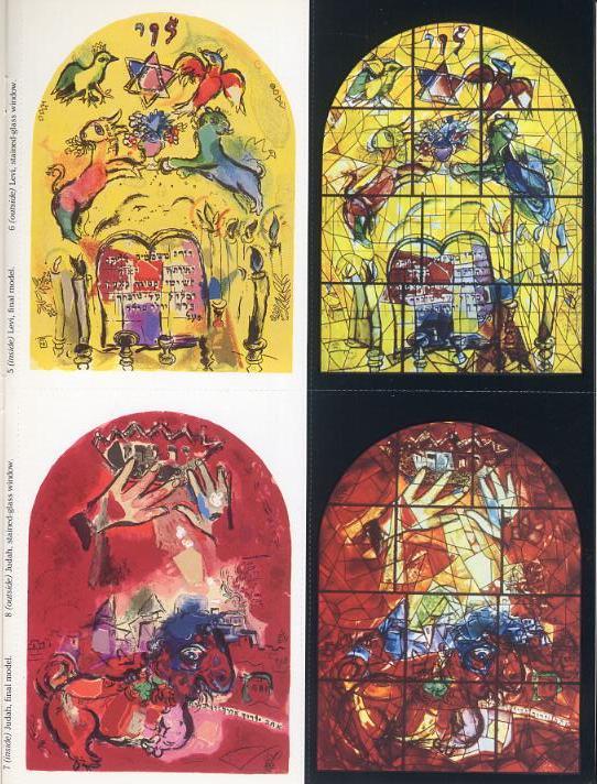 Marc Chagall Postcard Book