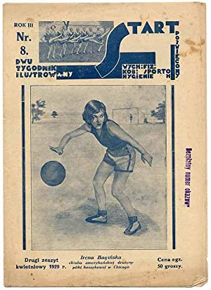 Start. Dwutygodnik ilustrowany poswiecony wych. fiz. kob., sportom, hygienie. R.3 (IV 1929) nr 8.