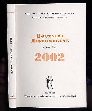 Roczniki Historyczne. R.68 (2002)