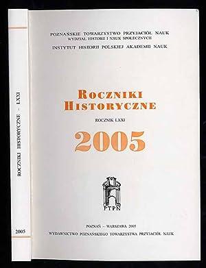 Roczniki Historyczne. R.71 (2005)