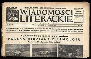 Wiadomosci Literackie. R.10 (16 IV 1933) nr