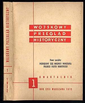 Wojskowy Przeglad Historyczny. Numer specjalny poswiecony XXX