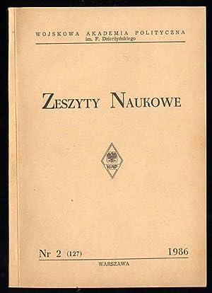 Zeszyty Naukowe./Nr 2 (127) (1986).